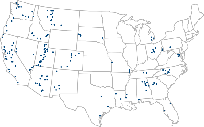 map of locations